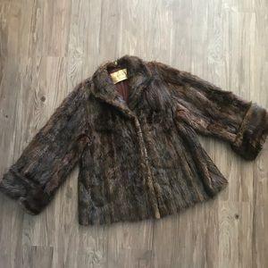 Vintage authentic mink coat